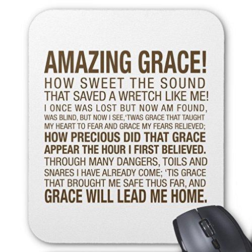Price comparison product image Zazzle Amazing Grace Mouse Pad