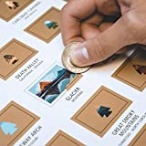 The Definitive Scratch Off Travel Print for National Park Adventurers.  From A(cadia) to Z(ion), each of the 60 National Parks are covered in gold foil, and ready to be scratched off once you've visited them. Use this print to track your footsteps or...