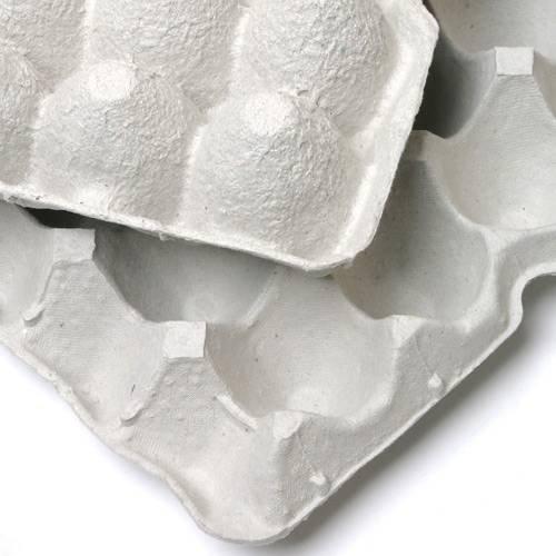 ノーブランド 紙製卵トレー 45cm×29cm