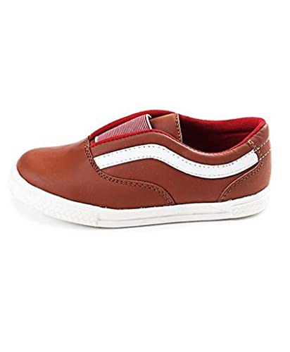 805611b3cb4 Tuskey Baby Boys  Brown Genuine Leather Casual Shoes (1302896) - 18 Months -