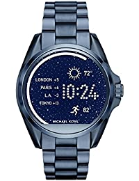 Access, Women's Smartwatch, Bradshaw Navy-Tone Stainless Steel, MKT5006