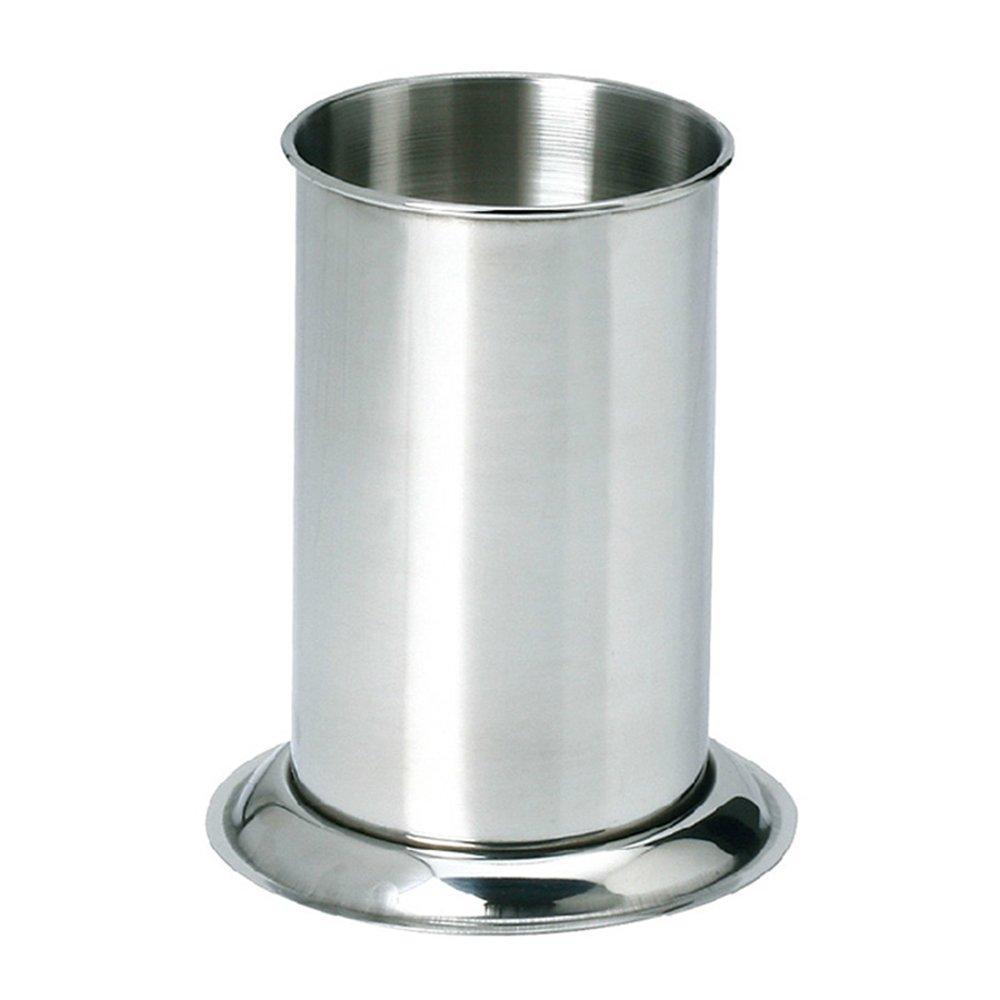 MyLifeUNIT Counter-top Straw Dispenser, Stainless Steel Straw Holder Organizer 6.3