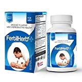 FertilHerb®+ for Men Fertility Supplement | Doctor Recommended, All Natural, Antioxidants, Herbal Fertility Formula & Multivitamin for Men, 30 Servings Per Bottle