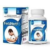 FertilHerb®+ for Men | Premium Fertility Supplement | Doctor Recommended, All Natural, Antioxidants