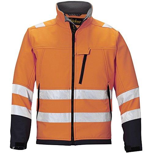 Shell Taille Soft L 12135558006 3 Haute Veste Classe Visibilité Orange Snickers 4Ft8nwqpOO