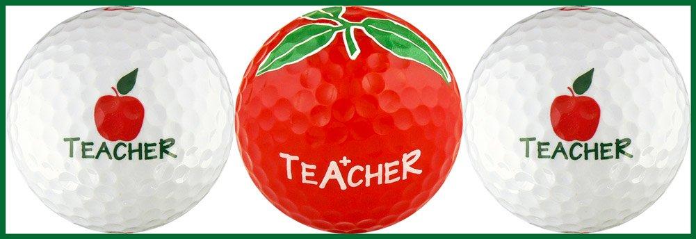 先生W / Appleさまざまなゴルフボールギフトセット B00TQ7RSL2