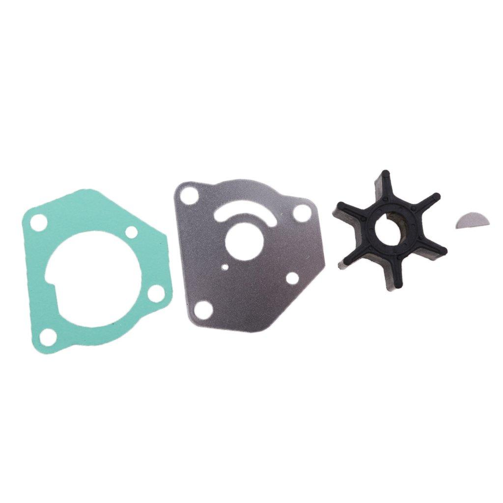 MonkeyJack Water Pump Impeller Kit for Suzuki 8 9.9 HP DT8 DT8C DT9.9C 17400-92D01