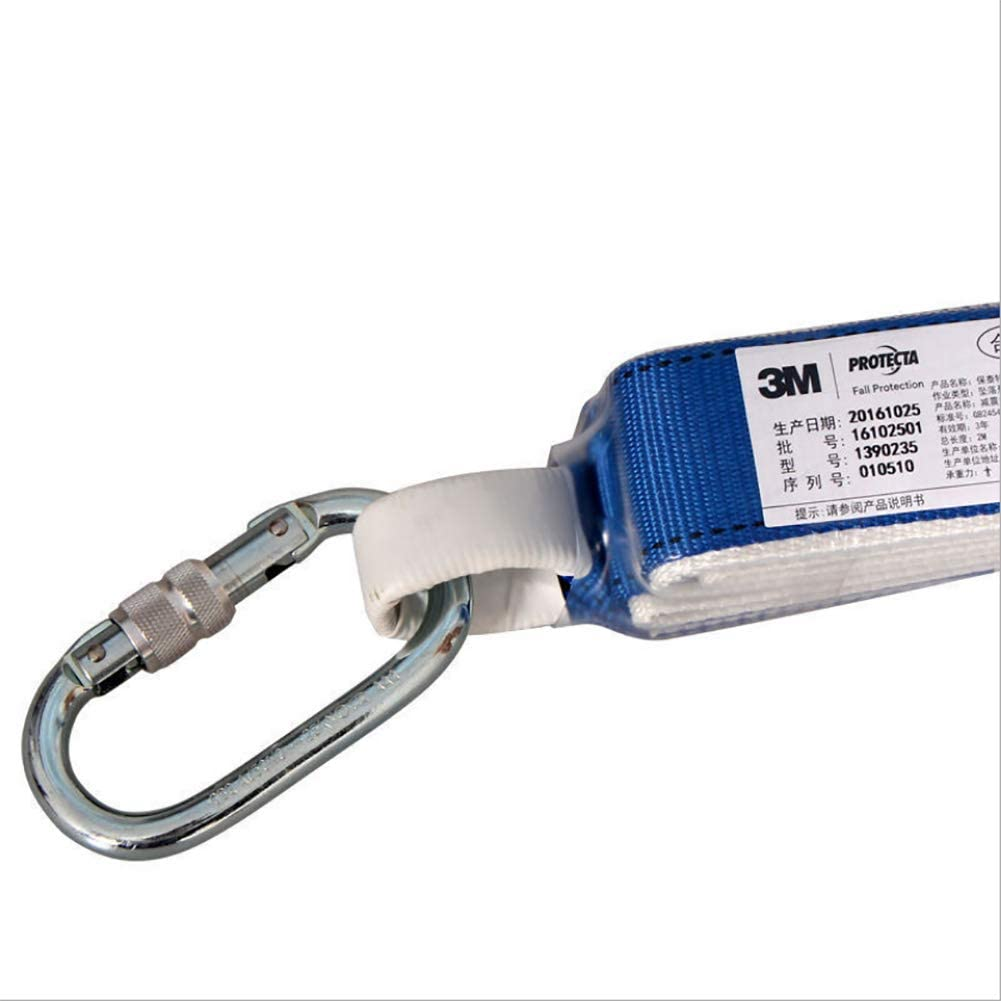 ZLQF Cuerda De Seguridad para Arnés, con Amortiguador, 1.2M ...