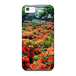 Shockproof Scratcheproof Gorgeous Flowers Of Japan Hard Cases Covers For Iphone 5c
