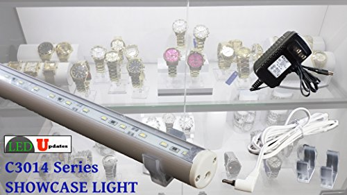 SHOWCASE CABINET LED LIGHT 5FT PERFECT FOR 6FT DISPLAY WITH UL POWER ADAPTER