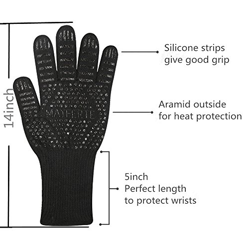Review BBQ Cooking Glove 932°F