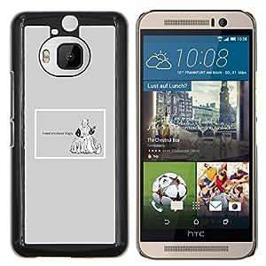 """Be-Star Único Patrón Plástico Duro Fundas Cover Cubre Hard Case Cover Para HTC One M9+ / M9 Plus (Not M9) ( Emociones Viagra Cita divertida Vida motivación"""" )"""