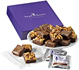 Fairytale Brownies Sugar-Free Magic Morsel 18 Gourmet Food Gift Basket Chocolate Box – 1.5 Inch x 1.5 Inch Bite-Size Brownies – 18 Pieces