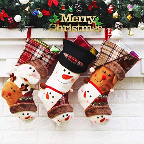 Christmas Stockings, 3 Pack 18