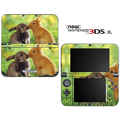 Honey Bunny Kisses Decorative Video Game Decal Skin Sticker Cover for the