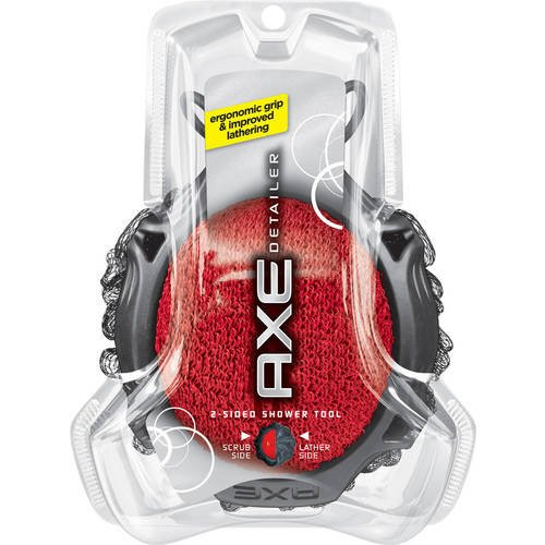 Axe Detailer 2-Sided Shower Tool, Colors May Vary 1 (Axe Shower Tool)