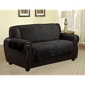 Amazoncom Quilted Microfiber Pet Dog Couch Sofa Furniture