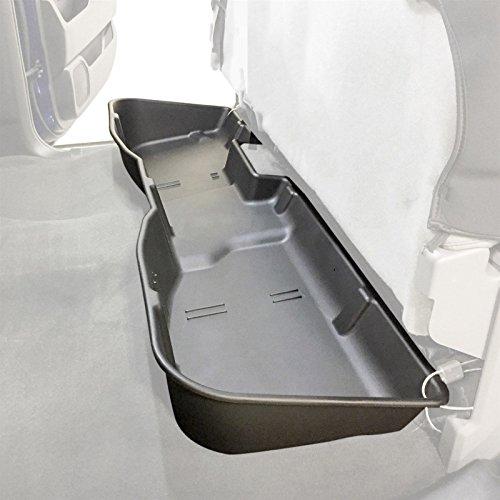 USAuto® Storage Black Underseat Storage Box for 2007-2018 Chevy Silverado or Sierra CREW CAB