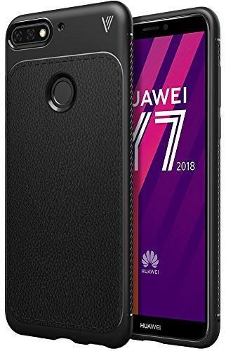 iBetter Funda Huawei Y7 Prime 2018, [Funda Blanda] Funda Blanda a Prueba de Golpes Nueva, Funda de Silicona TPU Funda Huawei...