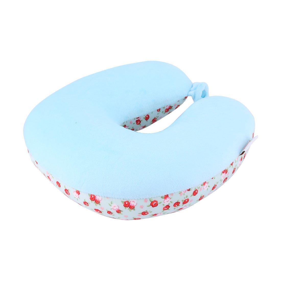 Amazon.com: eDealMax del patrón de Flor rellena de espuma en Forma de U Soporte Suave del Cuello de la cabeza Cojín Avión Tren de coches Almohada de viaje ...