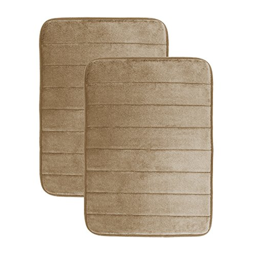 luxor-linens-memory-foam-bath-mat-2-piece-set-giovanni-line-luxurious-super-soft-absorbent-with-anti