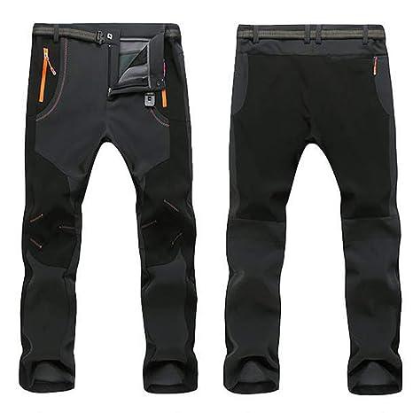 60fab8bc4bd2 Amazon.com   Men s Waterproof Windproof Outdoor Thick Pants Soft ...