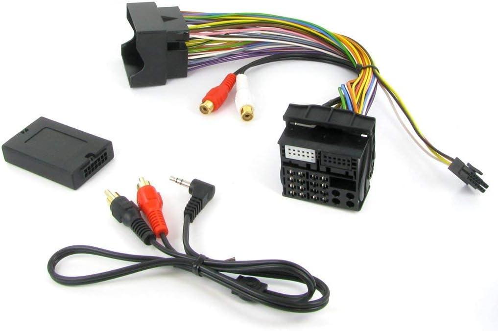 Adaptador Auxiliar de Interfaz Connects2 CTVPGX011 para Citroen C2, C3, C4, C5, C8