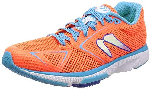 Newton Running Women's Distance 8 Orange/Blue 8.5 B US
