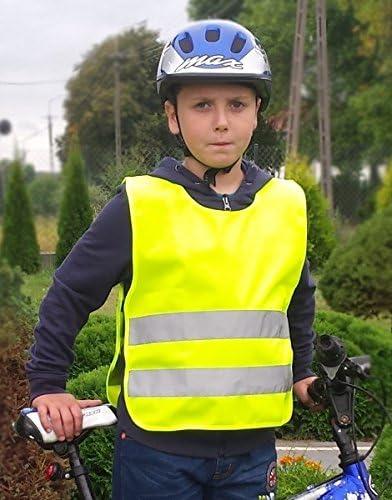 Mbm Warnschutzweste Warnweste Weste Kinder Funktionsweste Sichtbarkeitsweste En1150 199 Auto