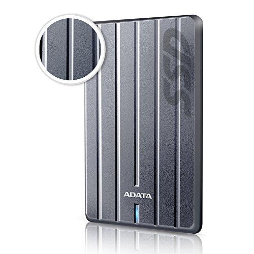 ADATA ASC660H-512GU3-CTI SC660H 512GB Ultra-Slim USB 3.1 External Solid State Drive by ADATA (Image #1)