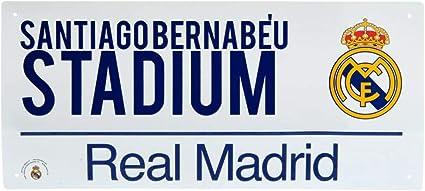 40cm x 18cm Real Madrid Street Sign