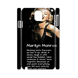 Marilyn Monroe Personalized 3D Cover Case for Samsung Galaxy Note 3 N9000,customized phone case ygtg-345464