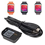 Aobiny Charger Dock Cradle Station Charger With Cable For Samsung Gear 2 Neo R381 Watch