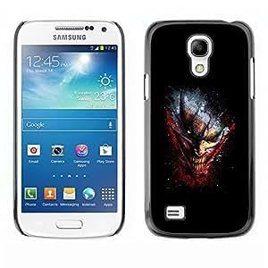 TECHCASE**Cubierta de la caja de protección la piel dura para el ** Samsung Galaxy S4 Mini i9190 MINI VERSION! ** Evil Grinning Joker