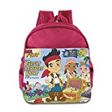 Toddler Kids Jake And The Never Land Pirates School Backpack Cartoon Children School Bags Pink