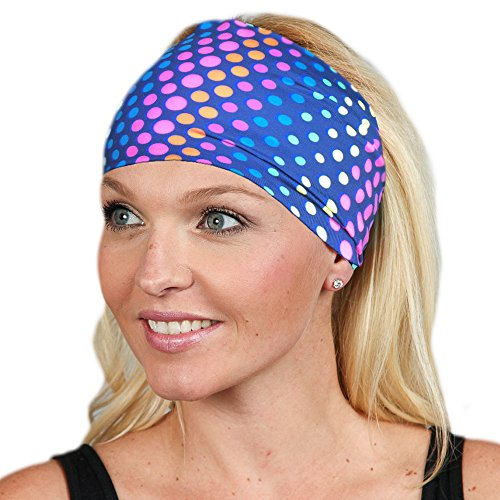 Workout Headband Extra Wide Headband Running Headband Fitness Headband No Slip Headband Yoga Headband Women Head Wrap Wide Headband