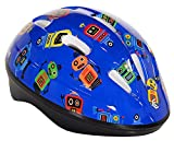 accu cycle - Capstone Toddler Helmet, Blue Robots