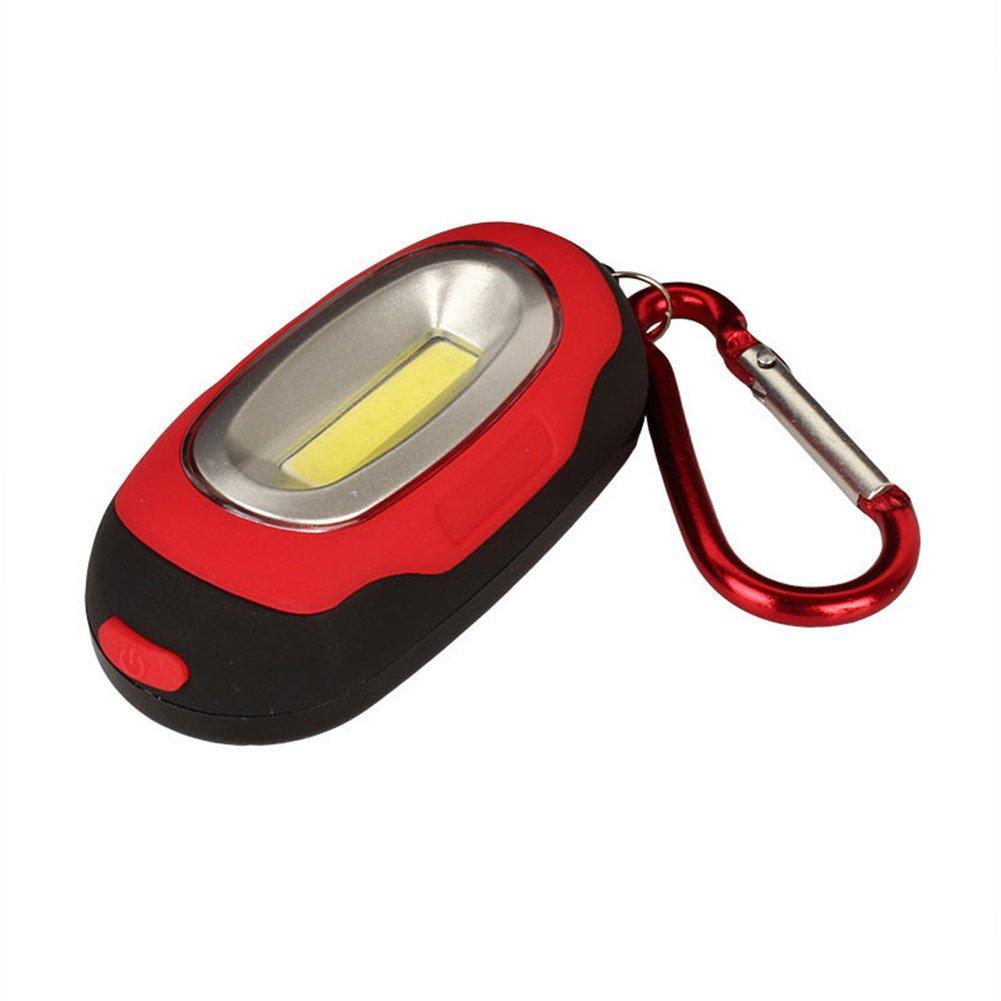 Sdkmah9 Mini Tragbar Magnetischer Schl/üsselanh/änger Taschenlampe Taschenlampe COB LED Arbeiten Lampe Licht Camping Laterne f/ür Outdoor Aktivit/äten