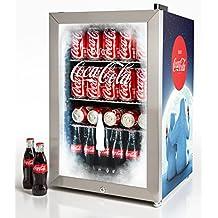 Nostalgia BC24COKE Coca-Cola 80-Can Commercial Beverage Cooler
