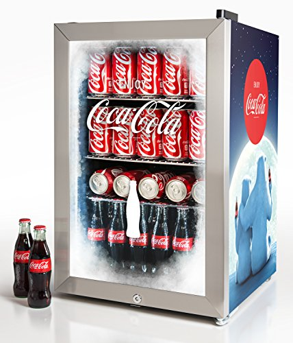 Nostalgia BC24COKE Coca-Cola 80-Can Commercial Beverage Cooler (Nostalgia Electrics Refrigerator Electric)
