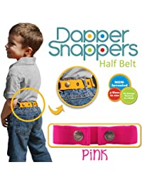 Dapper Snapper Made in USA Baby & Toddler Adjustable Belt-Pink