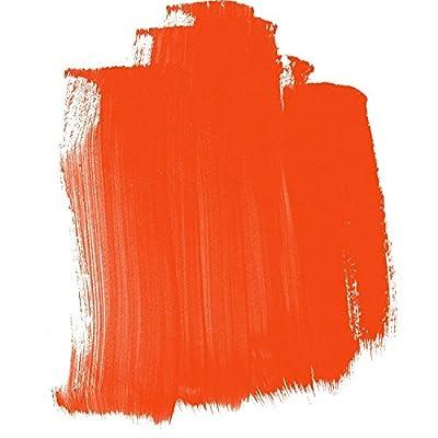 Golden High Flow Acrylic Paint, 16 Ounce, Pyrrole Orange