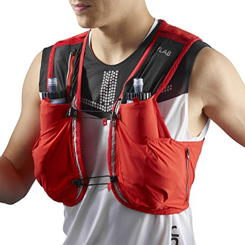 Lightweight Hydration 12 Graphite 12 Pack Skin Red Set Advanced Salomon Litre wSq1IT61