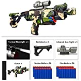 Toy, Fun, Game, 2018 New M4 Electric Burst Soft Bullet Gun Dart Blaster Toy Rifle Children's Best Gift Toy Gun, Children, Kids, Play