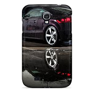For Galaxy S4 Fashion Design Dripping Et Audi Case-EMi8240Dbgw