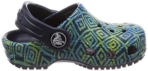 Clog Classic Adulto Graphic Crocs Zoccoli Misti Verde blu T1PwWxA