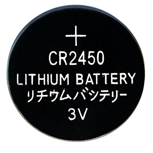 Innovator High Capacity 3V 600mah Button Battery CR2450(10 - 60 Tabs Manganese
