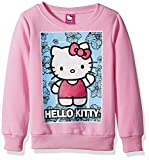 Image of Hello Kitty Toddler Girls' Sweatshirt with Sequins and Lace Details, Pink, 4T