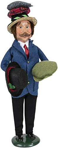 Byers Choice Hat Peddler Caroler Figurine from The Specialty Characters Collection 4839 New 2019