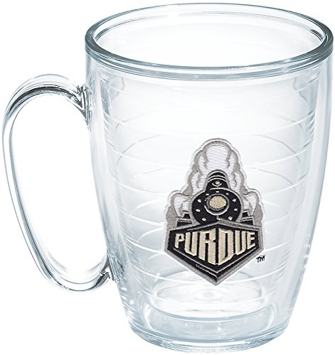 (Tervis Purdue University Train Emblem Individual Mug, 16 oz, Clear - 1204034)